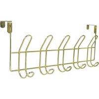 Deco Charm Over Door Hooks Gold