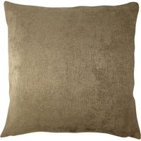 Large Orlando Chocolate Cushion Cover Chocolate (Brown)
