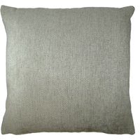 Large Orlando Silver Cushion Cover Silver