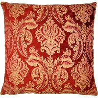 Large Scarlett Red Cushion Cover Red