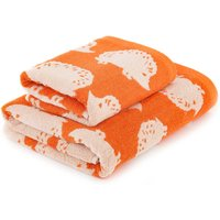 Orange Hedgehog Towel Orange