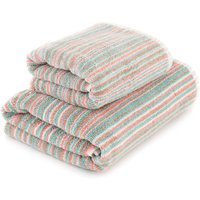 Candy Stripes Towel Multi Coloured