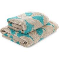 Kingfisher Blue Birds Towel Kingfisher Blue