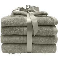 6 Piece Towel Bale Taupe Taupe