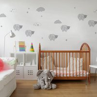 Sweet Dreams Wall Stickers Grey