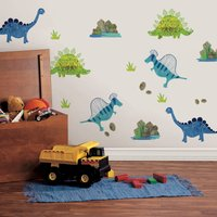 Roar Wall Stickers Multi Coloured