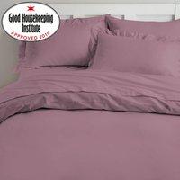 Non Iron Plum Duvet Cover Plum (Purple)