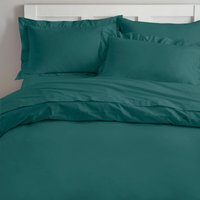 Non Iron Teal Duvet Cover Teal (Blue)