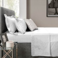 5A Fifth Avenue Modal White Flat Sheet Fresh White