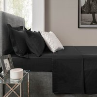 5A Fifth Avenue Modal Black Flat Sheet Panther Black