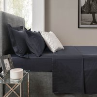 5A Fifth Avenue Modal Navy Flat Sheet Midnight Blue