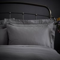 Fogarty Natural Cosy Grey Housewife Pillowcase Pair Grey