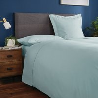 Fogarty Soft Touch Ocean Blue Flat Sheet Ocean Blue