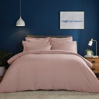 Fogarty Soft Touch Dusky Pink Duvet Cover and Pillowcase Set Dusky Pink