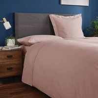 Fogarty Soft Touch Dusky Pink Flat Sheet Dusky Pink