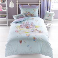 Fairy Castle Duvet Cover and Pillowcase Set Velvet