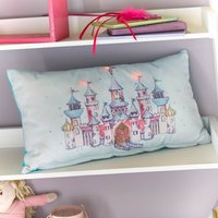 Castle Light Up Cushion Multi-coloured