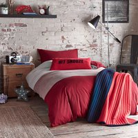 Jersey Red Bedding Set Red