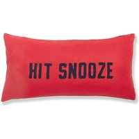 Jersey Reversible Hit Snooze Cushion Multi-coloured