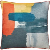 Elements Large Paint Stroke Cushion Multi Coloured