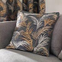 Palm Charcoal Cushion Charcoal