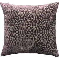 5A Fifth Avenue Plum Bergen Animal Print Cushion Plum Purple