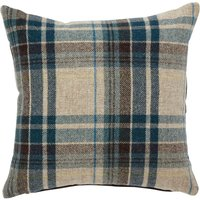 Alban Blue Check Cushion Blue