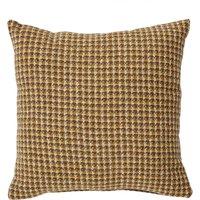 Caelian Mini Check Ochre Cushion Ochre