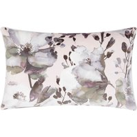 Large Clio Floral Cushion Multi Coloured