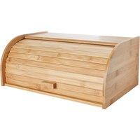 pinewood bread bin natural