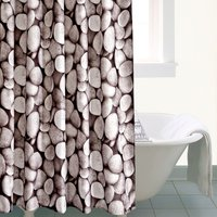 Pebbles Shower Curtain Grey