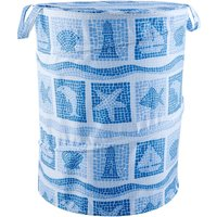 Seascape Pop Up Bin Blue