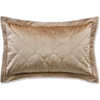 Velvet Velour Gold Pillowsham Gold