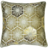 Deco Charm Champagne Cushion Cream