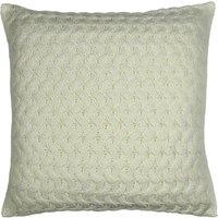 Chunky Knit Ivory Cushion Cream