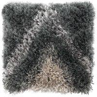 Indulgence Grey Chevron Cushion Grey