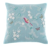 Tallulah Bird Cushion Cover Duck Egg (Blue)