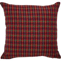 Houndstooth Multi Coloured Check Cushion Multi Coloured