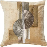 5A Fifth Avenue Gold Grand Central Bead Cushion Gold