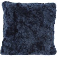5A Fifth Avenue Emerson Blue Faux Fur Cushion Blue