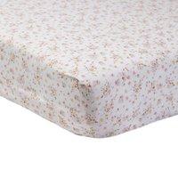 Swan Princess Fitted Sheet Pair Blush (Pink)