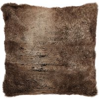 Verbier Natural Faux Fur Cushion Natural