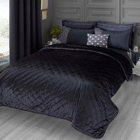 Octavia Navy Blue Bedspread Blue