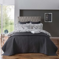 5A Fifth Avenue Grey Bryant Bedspread Grey