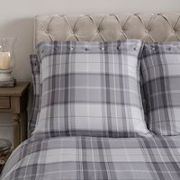Dorma Sandringham Grey Continental Pillowcase Grey