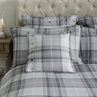 Dorma Sandringham Grey Cushion Grey