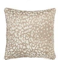 5A Fifth Avenue Gold Leopard Chenille Jacquard Cushion Gold