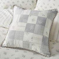 Mia Grey Square Cushion Grey