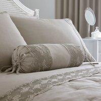 Gretta Grey Bolster Cushion Grey