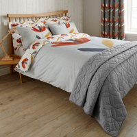 Elements Blomma Reversible Duvet Cover and Pillowcase Set Multi-coloured